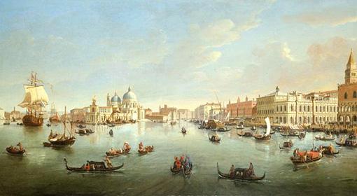 Veduta di Venezia del Vanvitelli