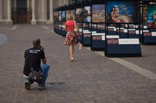 Fabio Novembre Allestisce La Mostra Lavazza : Lavazza con te partirò anni di fotografia in mostra