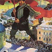 boris kustodiev il bolscevico 1920 mosca