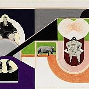mapplethorpe freaks 4 1968 tecnica mista