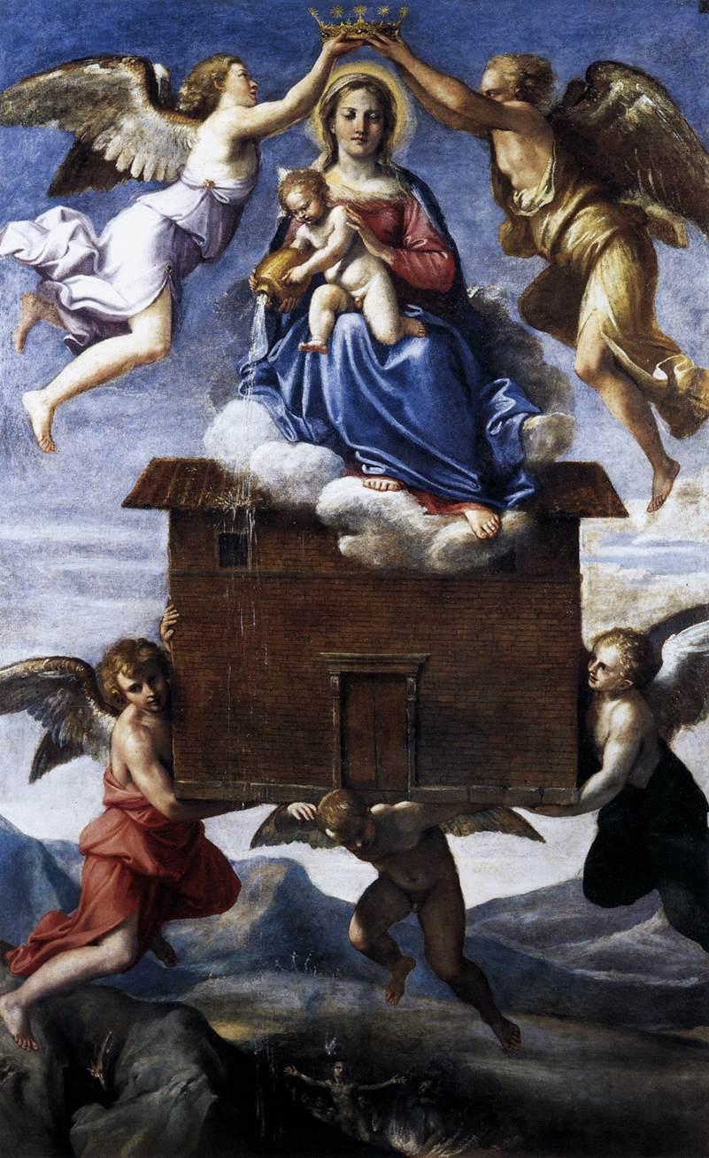 Annibale Carracci - Madonna di Loreto