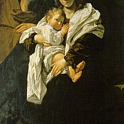 bartolomeo cavarozzi sacra famiglia 1616 circa