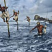 steve mc curry pescatori weligama costa sud sri lanka 1995