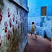 steve mc curry ragazzo che scappa jodhpur india 2007