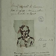 antonio canova autoritratto di canova frontespizio dell album