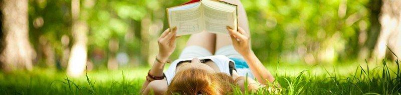 I libri sono ottimi compagni per relax e vacanza