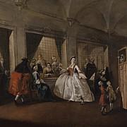 francesco guardi il parlatorio delle monache di san zaccaria