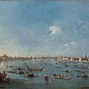 francesco guardi la regata sul canale della giudecca 1784 1789