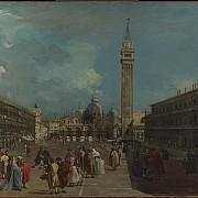 francesco guardi piazza san marco verso la basilica