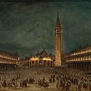 francesco guardi processione notturna in piazza san marco