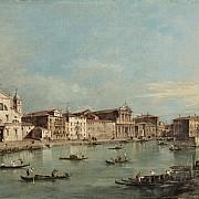 francesco guardi veduta del canal grande con san simeone piccolo e santa maria di nazareth c 1780