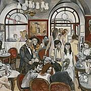 renato guttuso caffe greco 1976