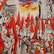 renato guttuso i funerali di togliatti 1972