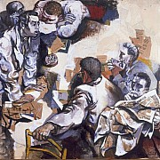 renato guttuso la discussione 1959 1960