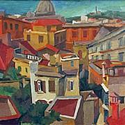 renato guttuso paesaggio urbano 1940