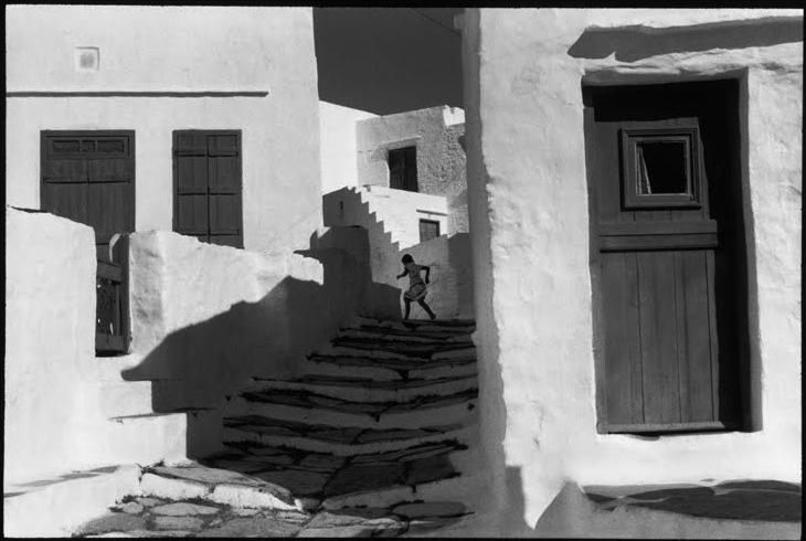 Henry Cartier-Bresson - Sifnos, Grecia, 1961