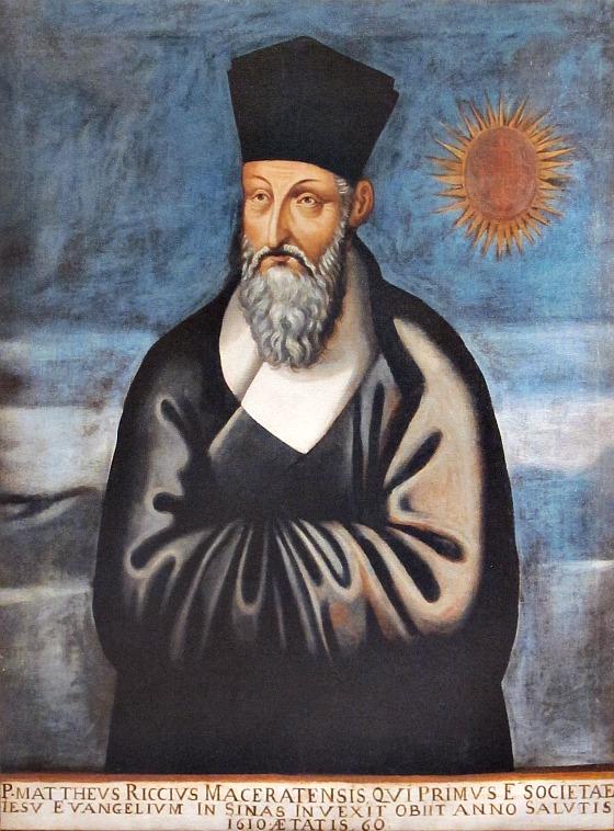 Ritatto di Matteo Ricci