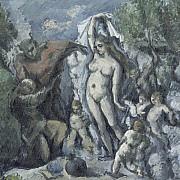 paul cezanne la tentazione di sant antonio 1877