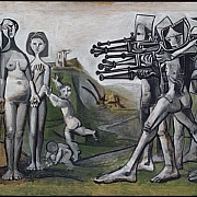 pablo picasso massacre en coree