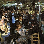 pierre auguste renoir dance in the moulin de la galette 1876