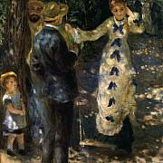 pierre auguste renoir the swing 1876
