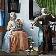 gabriel metsu donna che legge una lettera 1664 1666 ca
