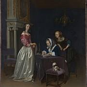 gerard ter borch curiosita 1660 1662 ca