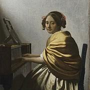 johannes vermee giovane donna seduta al virginale 1670 1672 ca