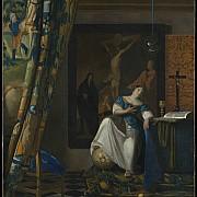 johannes vermeer allegoria della fede 1670 1674 ca