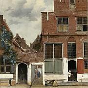 johannes vermeer la stradina 1658 ca