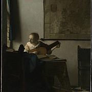 johannes vermeer la suonatrice di liuto 1662 1663ca