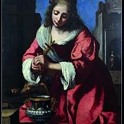 johannes vermeer santa prassede 1655