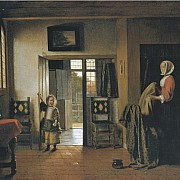 pieter de hooch la camera da letto 1658 1660 ca