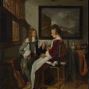 quirijn van brekelenkam conversazione sentimentale 1661 1662 ca