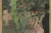 Edgar degas ballerine dietro le quinte 1876 1883