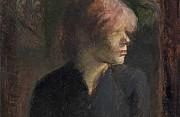 Henri de toulouse lautrec ritratto di carmen gaudin 1885
