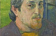 Paul Gauguin autoritratto dedicato a carriere 1888 o 1889