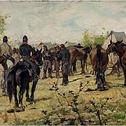 giovanni fattori le ordinanze 1883