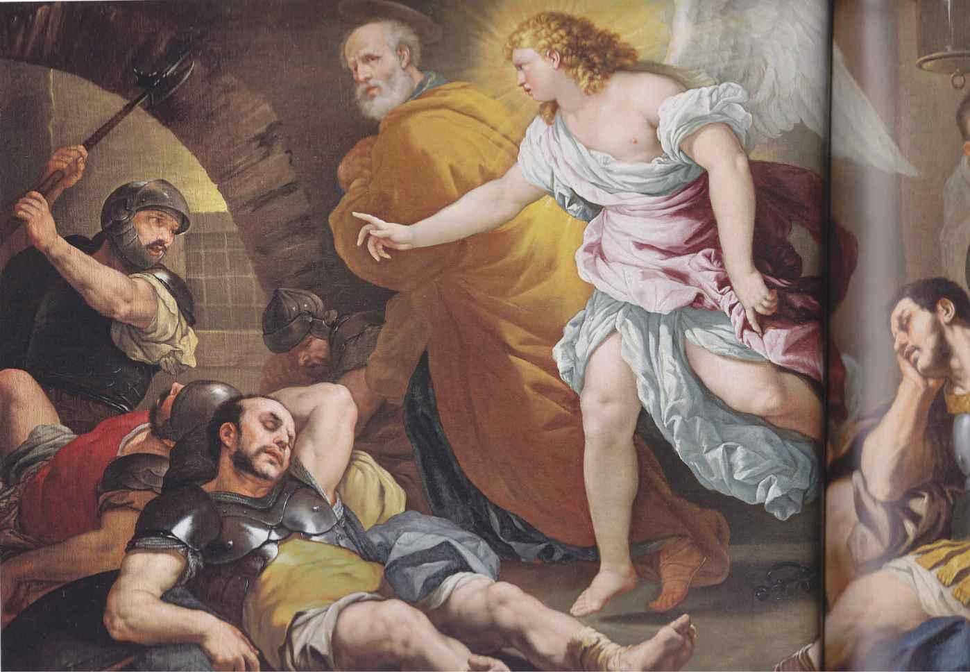 L'angelo libera Pietro dal carcere, 1663 circa