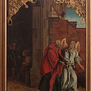 hans suess von kulmbach l angelo libera san ietro dal carcere 1507 1510 circa