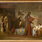 vasily polenov gesu resuscita la figlia di giairo 1871 circa rifilato