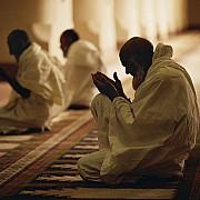 pellegrini visitano mecca con ihram medina arabia saudita 1995
