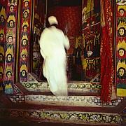 prete entra chiesa ura kidane mehrat bahar dar etiopia 1981