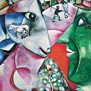 marc chagall i and the village 1911