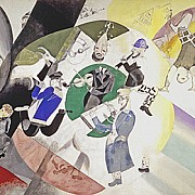marc chagall introduction to the jewish theatre 1920