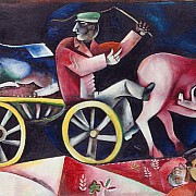 marc chagall the cattle dealer 1912