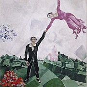marc chagall the promenade 1917 18 2