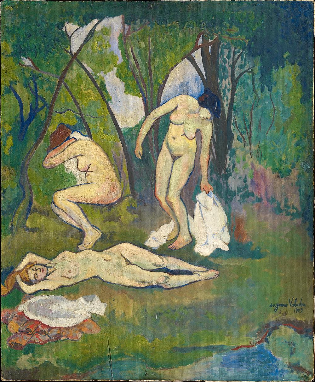 Suzanne Valadon - Tre nudi in campagna