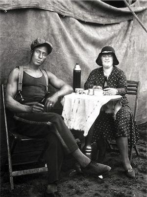 August Sander - Artisti di circo, 1926-1932