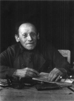 August Sander - L'avvocato Dilettante, 1952